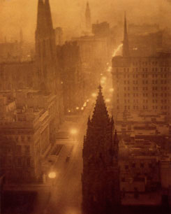5th Avenue by Alvin Langdon Coburn