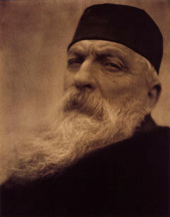 Auguste Rodin by Alvin Langdon Coburn