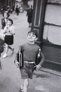 Rue Mouffetard by Henri Cartier-Bresson